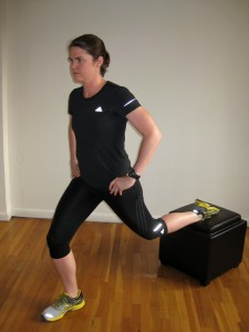 Bulgarian split squat Kate Vidulich