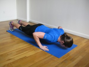 NYC Personal Trainer Push up