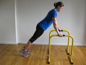 NYC Personal Trainer Incline Push up