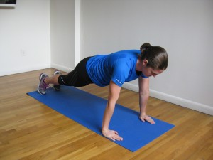 NYC Personal Trainer T Push Up