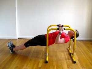 NYC Personal Trainer inverted self row